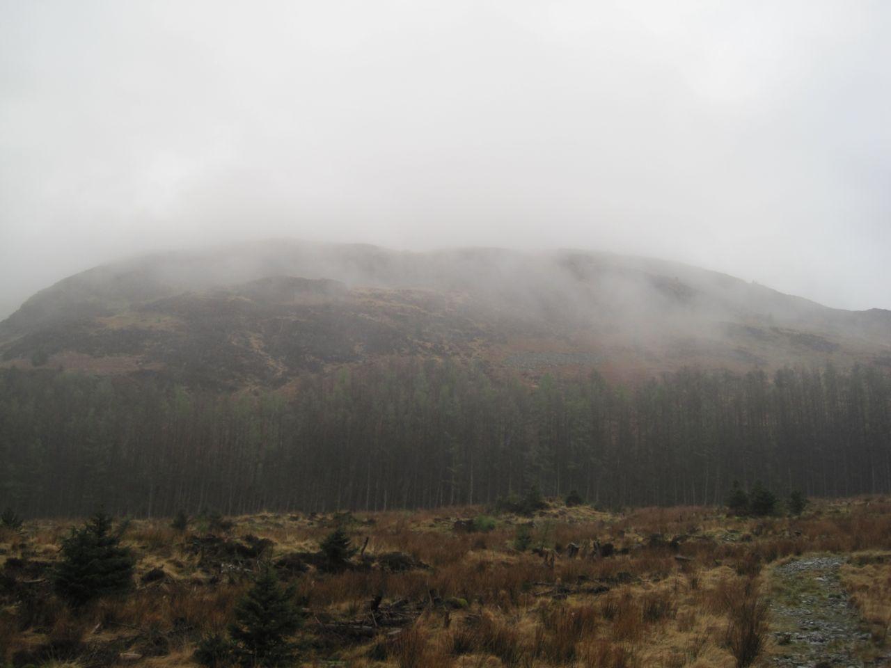 Low Craignell, gravel path