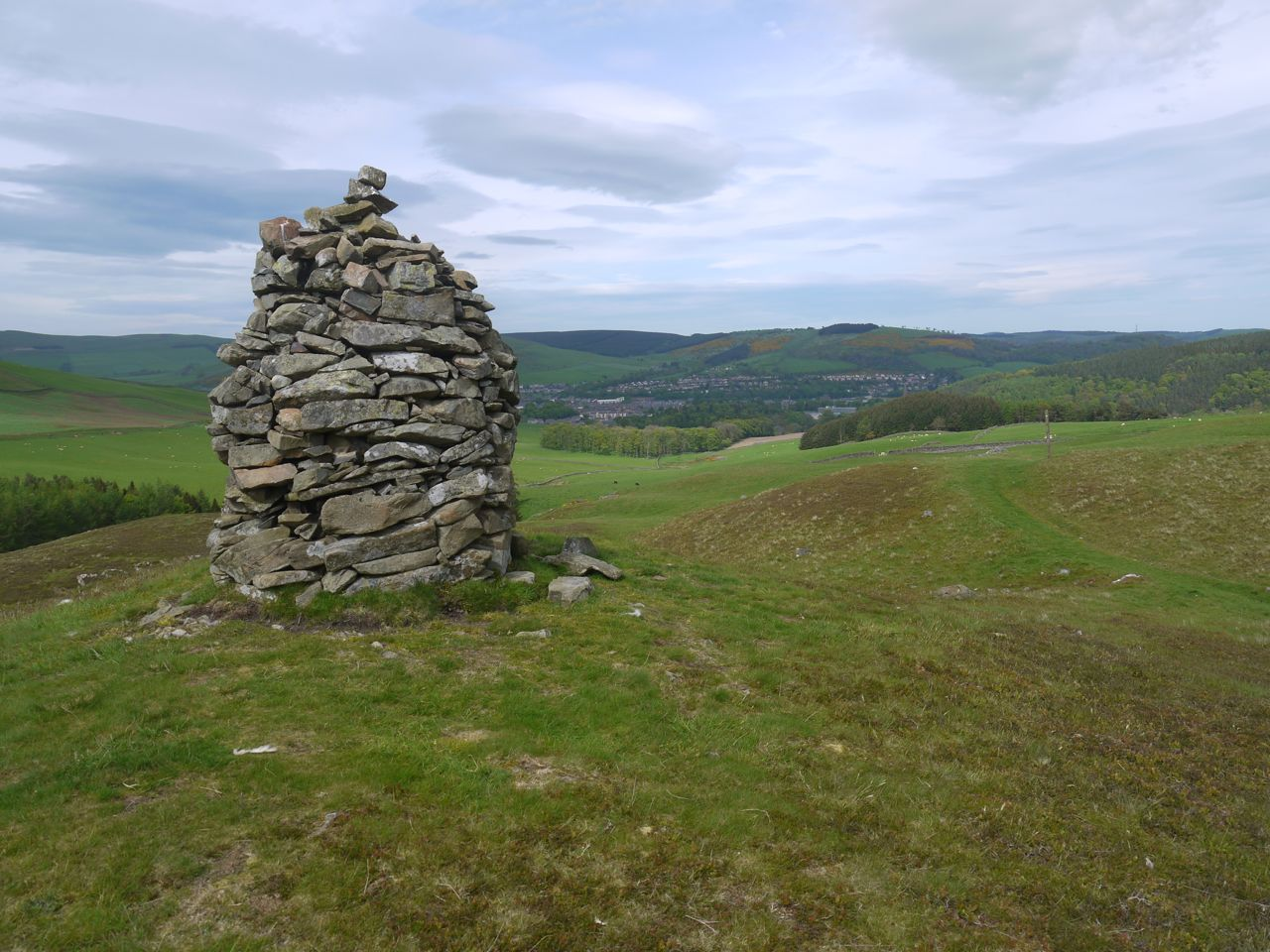Cairn above Gala