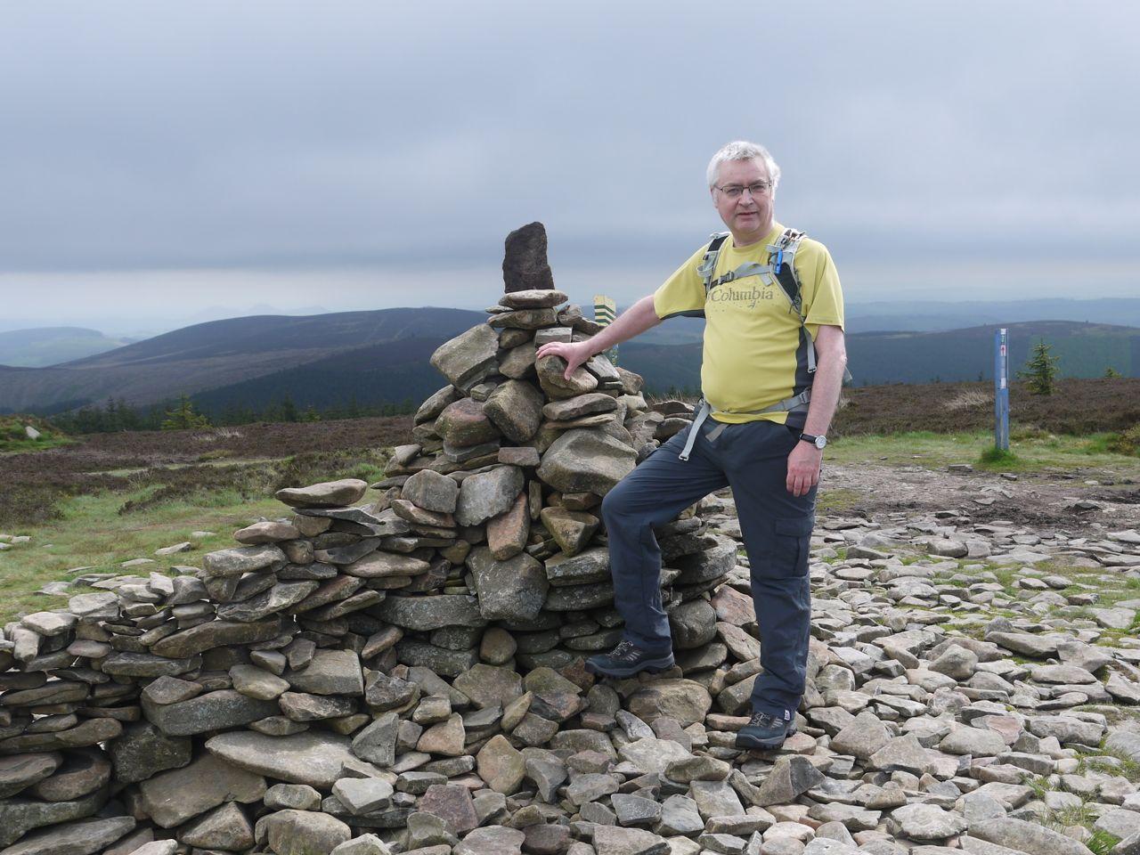 Minch Moor summit cairn