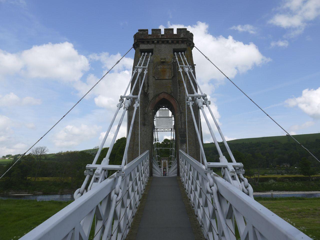Gattonside Chain Bridge
