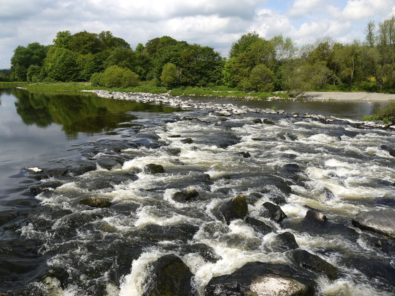 White water on the River Tweed-2