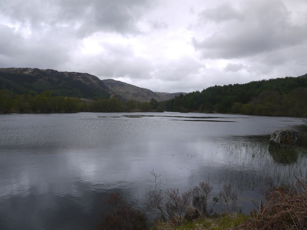 Loch Trool, the photo at the top of the post is twenty minutes later