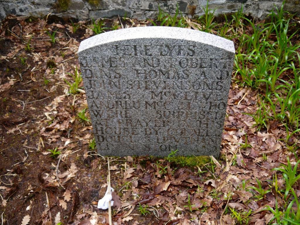 Martyrs' Gravestone