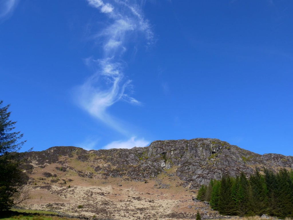 Cloud above Cairngarroch