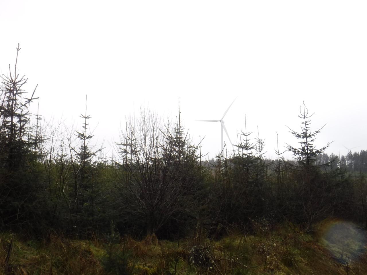 Harestanes turbine