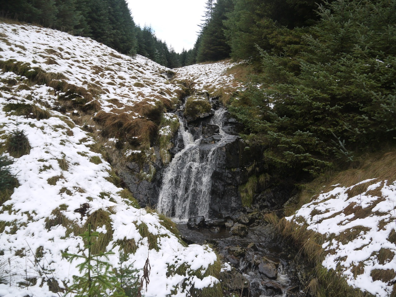 Waterfall on Dalwhat Burn
