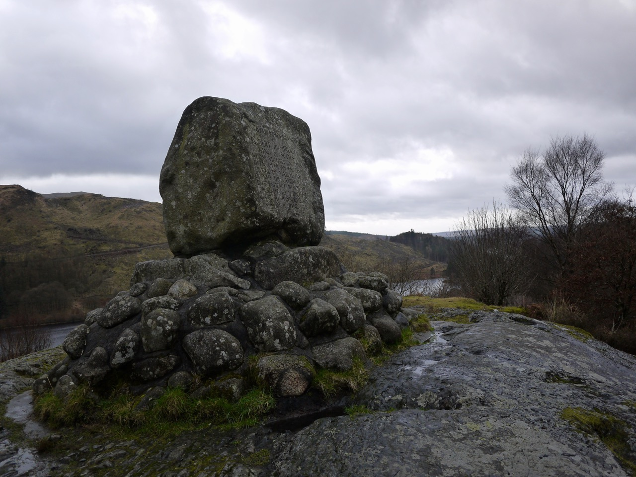 Bruce's Stone at Loch Trool